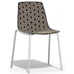 Supérieur Chaise De Bureau Originale #2: chaise-cuisine-empilable-plexiglas-alhambra.jpg