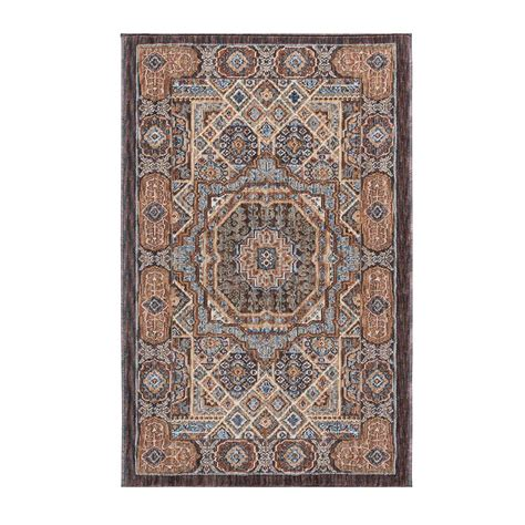 2 x 3 area rugs tayse rugs fairview multi 2 ft x 3 ft area rug fvw3101 2x3 the home depot
