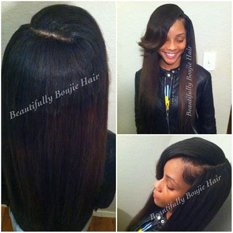sew in with leave out trad sew in small leave out w 3 bundle of peruvian body