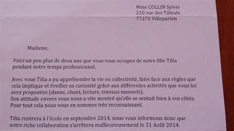 Lettre De Remerciement Beaux Parents livre d or collin sylvie assistante maternelle villeparisis