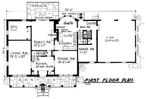 house plans with in law apartment separate plan 5143 country