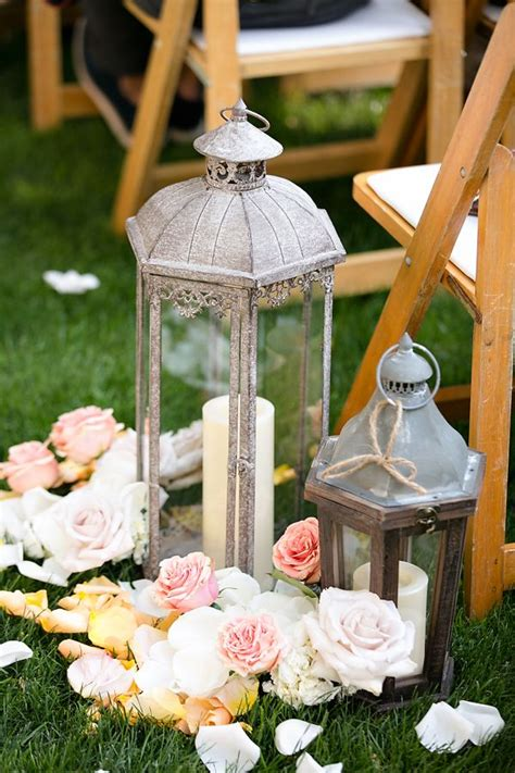 Wedding Aisle Lantern Ideas by 25 Best Ideas About Wedding Aisle Candles On