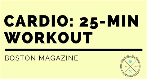 25 minute workout no equipment workout schedule