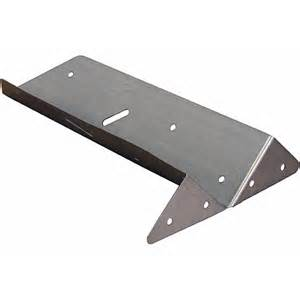 Installing A Handrail Arris Rail Bracket 11 Inch Gt Fencing Accessories Tate