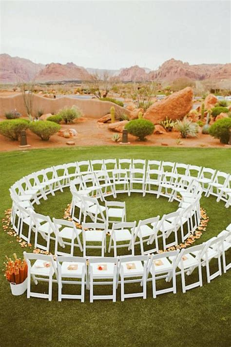 wedding ceremony layout chairs 3 alternative ceremony seating ideas ceremony seating