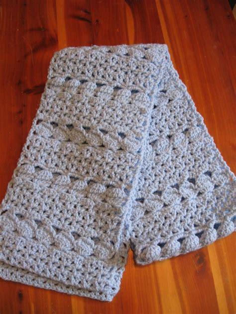 crochet pattern simple scarf cozy blue crochet scarf easy crochet scarf patterns