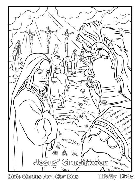 coloring page for resurrection crucifixion coloring pages az coloring pages