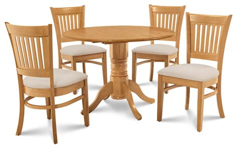 burlington dining table shop houzz dining furniture burlington 5 dining room set kitchen table and 4 dining