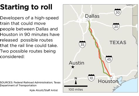 texas high speed rail map proposed routes for dallas houston high speed rail revealed dallas morning news