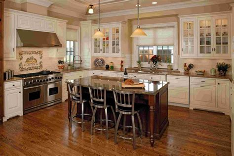 kitchen layouts ideas country kitchens ideas in blue and white colors