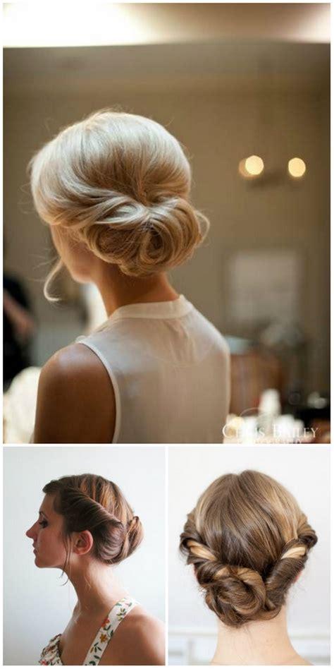 Hochzeitsfrisur Diy by Lockere Hochsteckfrisuren Halblange Haare