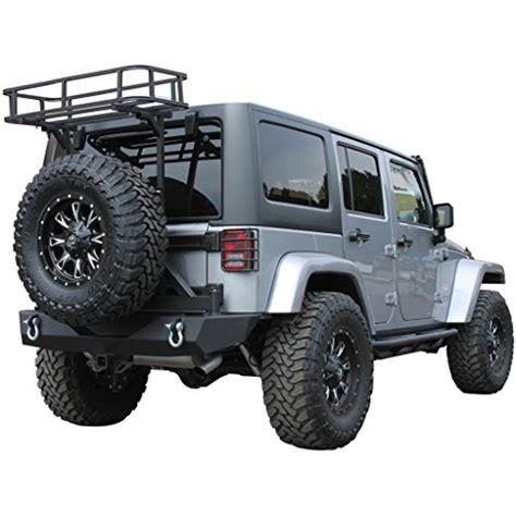 Jeep Jk Rear Cargo Rack E Autogrilles 07 16 Jeep Wrangler Jk Tailgate Basket Cargo