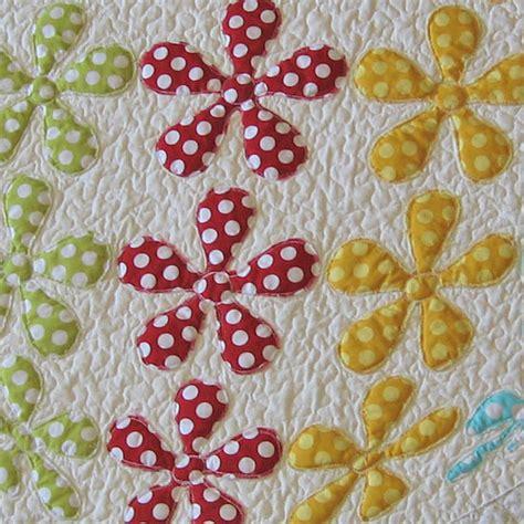 flower pattern quilt applique 3d flower applique quilt pattern 6 designs are included