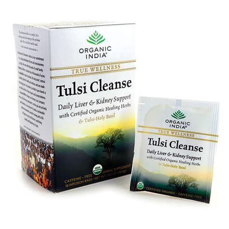 Holy Basil Detox Tea by Organic India True Wellness Tulsi Cleanse Tea 18 Bag S