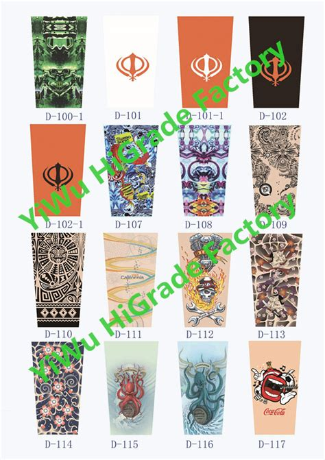 tattoo sleeve alibaba 2015 hot sale fabric tattoo sleeve nylon tattoo arm sleeve