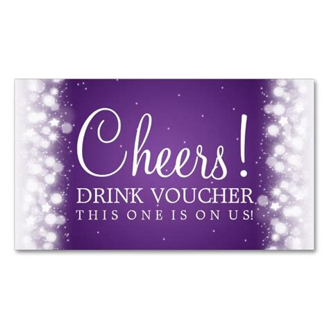 free drink card template 1000 images about voucher card templates on