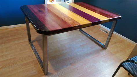buy  custom exotic wood dining table   order