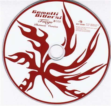 fuego gemelli diversi copertina cd gemelli diversi fuego 2 cd 1 2 cover