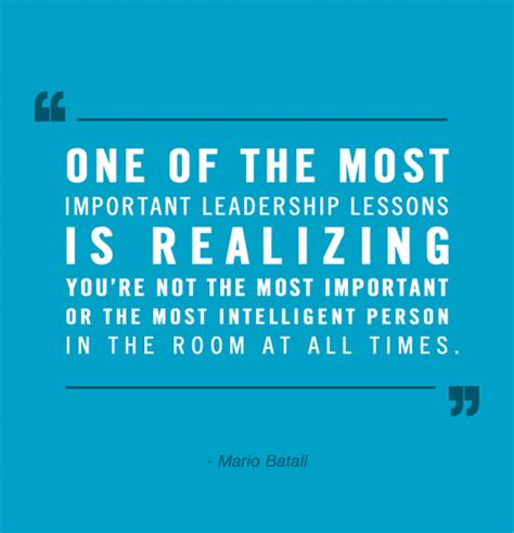 leadership and the one the most important things are the hardest things to say