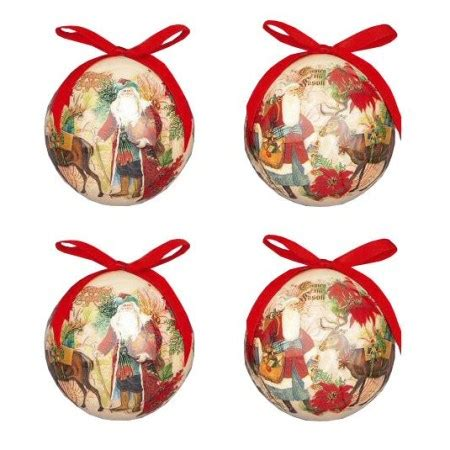 Decoupage Baubles - decoupage bauble tree decorations crusader gifts