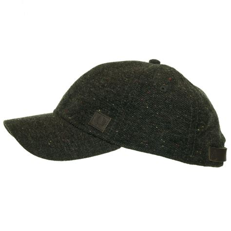 fred perry wool fleck constructed baseball cap jon barrie