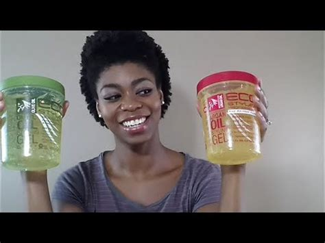 natural hairstyles eco gel 4c natural hair eco styler argan oil gel review