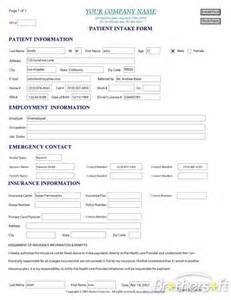 download free patient intake form patient intake form 1 0
