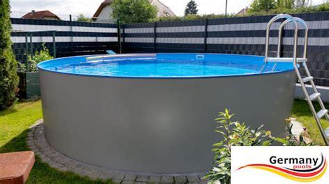 freistehender pool edelstahl pool edelstahl schwimmbecken germany pools