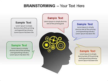 Brainstorming Ppt Diagrams Chart Design Id 0000003253 Brainstorming Ppt