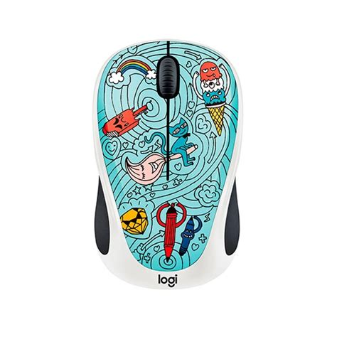 Mouse Logitec M238 mouse optico logitech m238 wireless bae bee blue
