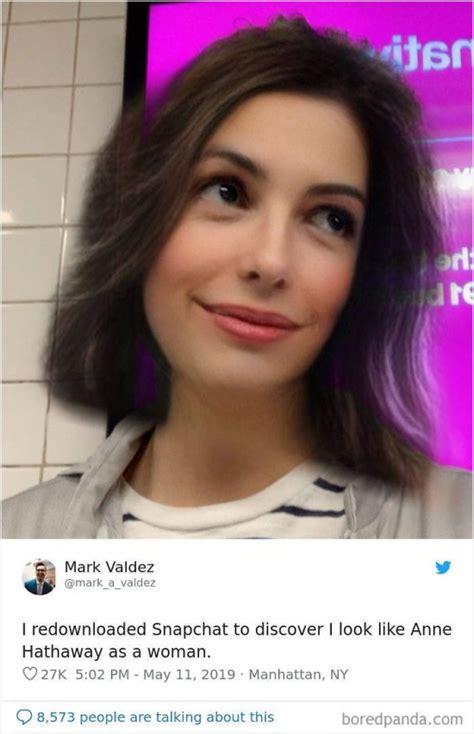 snapchat gender swap filter  pics