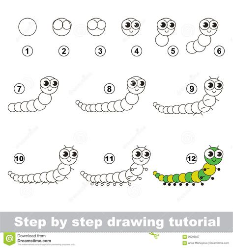 html tutorial a to z millipede cartoons illustrations vector stock images