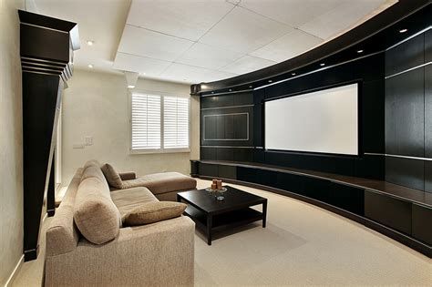 home theater screen wall design 21 home theater design ideas decor pictures