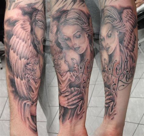 cherub sleeve tattoo designs sleeve designs half sleeve designs for