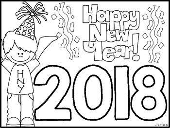 new year colouring pages preschool freebie happy new year coloring sheet preschool winter