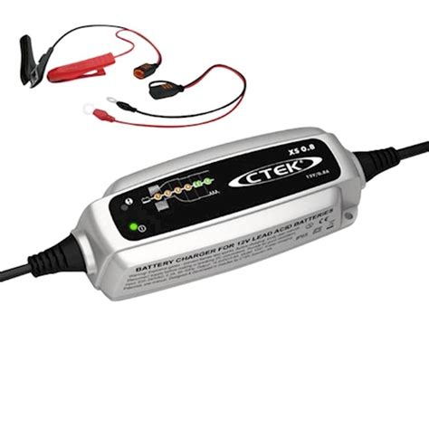 Motorrad Batterie Nach 1 Monat Leer ctek xs 0 8 batterie ladeger 228 t charger 12v f 252 r motorrad