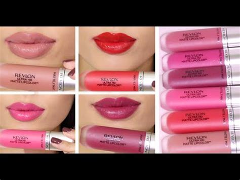 Berapa Lipstik Revlon Ultra Hd brand new revlon ultra hd matte lip colors review