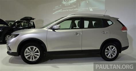 nissan malaysia new nissan x trail open for booking in malaysia 2 0 2wd