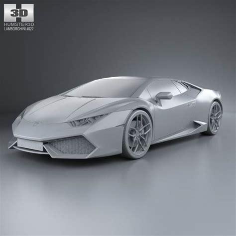 lamborghini 2015 models lamborghini huracan 2015 3d model humster3d