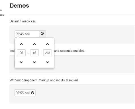 format date jquery cool time picker for twitter bootstrap free jquery plugins