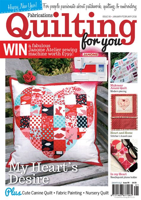 Patchwork Magazines Free - patchwork quilting january 2016 187 free pdf magazines