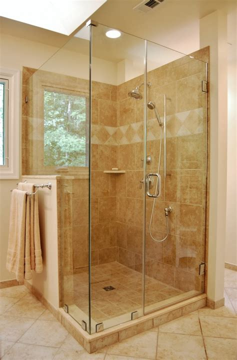 bathroom with glass doors custom glass shower door enclosure virginia maryland dc