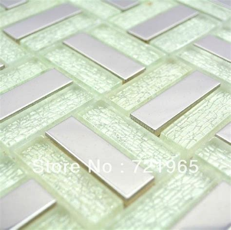 stainless steel glass mosaic tile ssmt199 discount glass