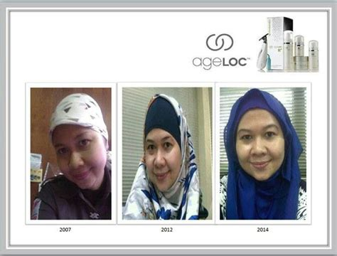 Suplemen Ageloc R2 me before nuskin 2007 n 2012 after use ageloc 2014 ageloc r2