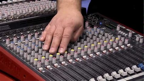 Allen Heath Mixer Live Zed18 allen heath zed 16fx mixer review