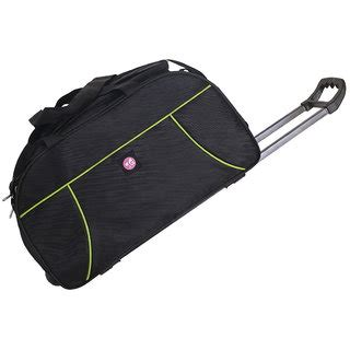 Premium Trolley Bag Num Noms Only 3g premium duffle trolley bag black buy 3g premium duffle trolley bag black at best