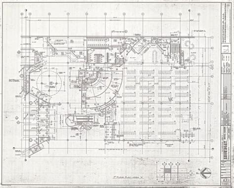 casino floor plans unlv libraries digital collections architectural drawing