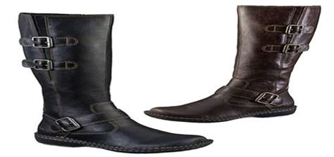 b o c by born rich leather look boots in black and