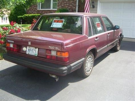 volvo 1989 sedan find used volvo 1989 740 gl sedan 4 door 2 3l in east