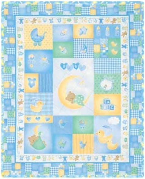 Quilt Kits For Baby Boy by Sleepy Time Boy Quilt Kit Baby Quilt Ideas